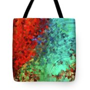 Colorful Abstract Art - Rejoice - Sharon Cummings Tote Bag