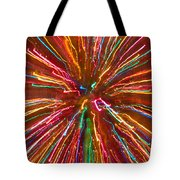 Colorful Abstract Photography Tote Bag