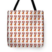 Colorful Angel Pattern Illustration Tote Bag