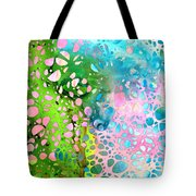 Colorful Art - Enchanting Spring - Sharon Cummings Tote Bag