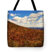 Colorful Autumn Panorama - West Virginia Tote Bag
