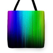 Colorful Background With Vertical Lines Tote Bag