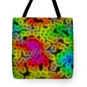 Colorful Bacteria Tote Bag