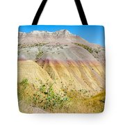 Colorful Badlands Of South Dakota Tote Bag
