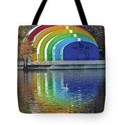 Colorful Bandshell Tote Bag