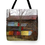 Colorful Barn Tote Bag