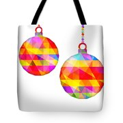 Colorful Baubles - 66 Tote Bag