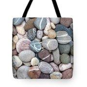 Colorful Beach Pebbles Tote Bag