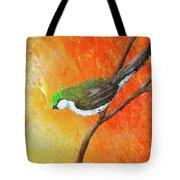 Colorful Bird Art Tote Bag