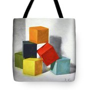 Colorful Blocks Tote Bag