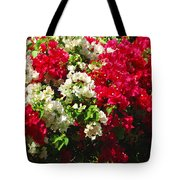 Colorful Bougainvilleas Tote Bag