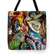 Colorful Bright Corals All In A Row  Tote Bag