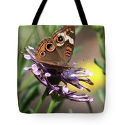 Colorful Butterfly On Daisy Tote Bag