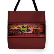 Colorful Car  Tote Bag