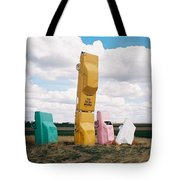 Colorful Cars Tote Bag