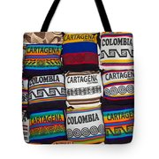 Colorful Cartagena Tote Bag