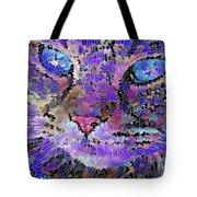 Flower Cat 2 Tote Bag