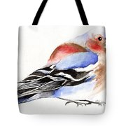Colorful Chaffinch Tote Bag