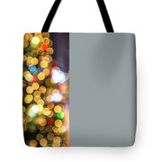 Colorful Christmas Background Tote Bag by Benny Marty