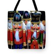 Colorful Christmas Nutcrackers Tote Bag