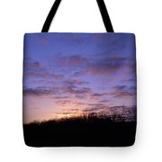 Colorful Clouds In The Sky Tote Bag