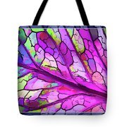 Colorful Coleus Abstract 3 Tote Bag
