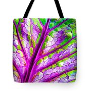 Colorful Coleus Abstract 1 Tote Bag
