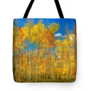 Colorful Colorado Fall Foliage Tote Bag