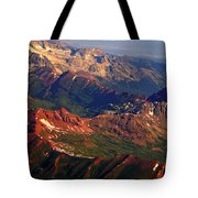 Colorful Colorado Planet Earth Tote Bag