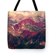 Colorful Colorado Rocky Mountains Tote Bag