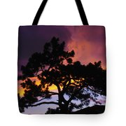 Colorful Colorado Sunset Tote Bag