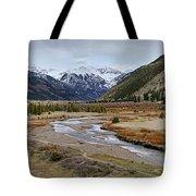 Colorful Colorado Valley Tote Bag