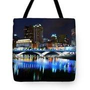 Colorful Columbus Tote Bag
