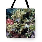 Colorful Coral Reef Tote Bag