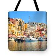 Colorful Corricella Tote Bag