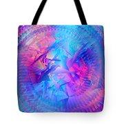 Colorful Crash 7 Tote Bag