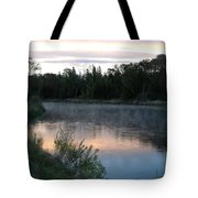 Colorful Dawn Reflections Tote Bag