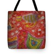 Colorful Deep Sea Tote Bag