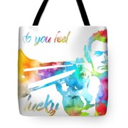 Colorful Dirty Harry Tote Bag