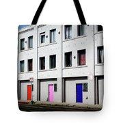 Colorful Doors- By Linda Woods Tote Bag