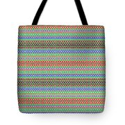 Colorful Dots N Mini Circles In Line Patterns With Background Textures Fineartamerica.com Licensing  Tote Bag