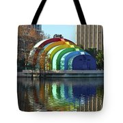 Colorful Downtown Orlando Tote Bag
