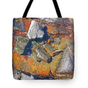 Colorful Earth History Tote Bag