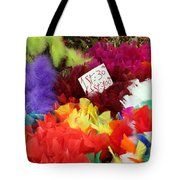 Colorful Easter Feathers Tote Bag