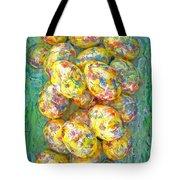 Colorful Eggs Tote Bag