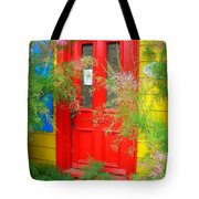 Colorful Entrance ... Tote Bag