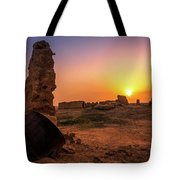 Colorful Evening In The Ruined World.. Tote Bag