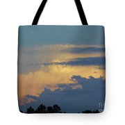 Colorful Evening Sky Tote Bag