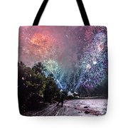 Colorful Explosions Tote Bag