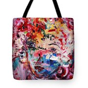 Colorful Expression 12 Tote Bag